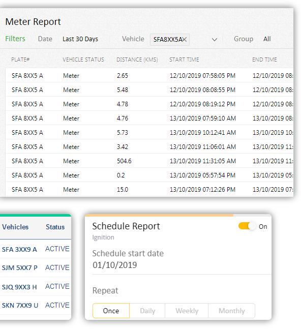 إنشاء تقرير سهل (عبر الإنترنت وغير متصل)