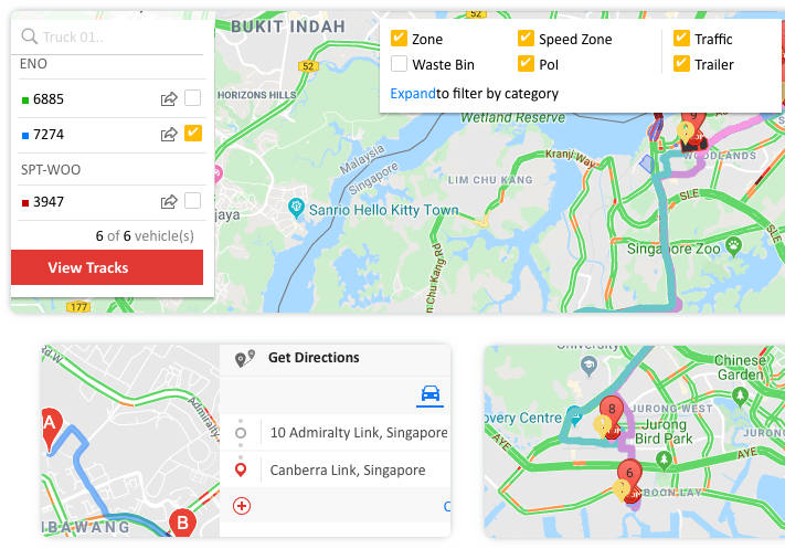 Real-time road traffic data