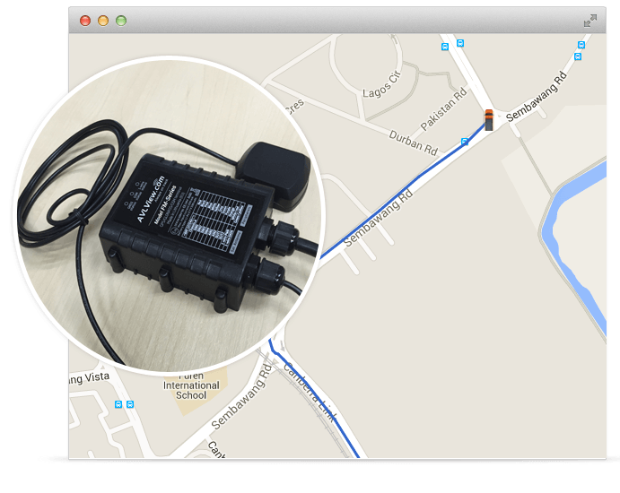 150+ API and 30+ GPS tracking devices integrated with this real time GPS tracking system