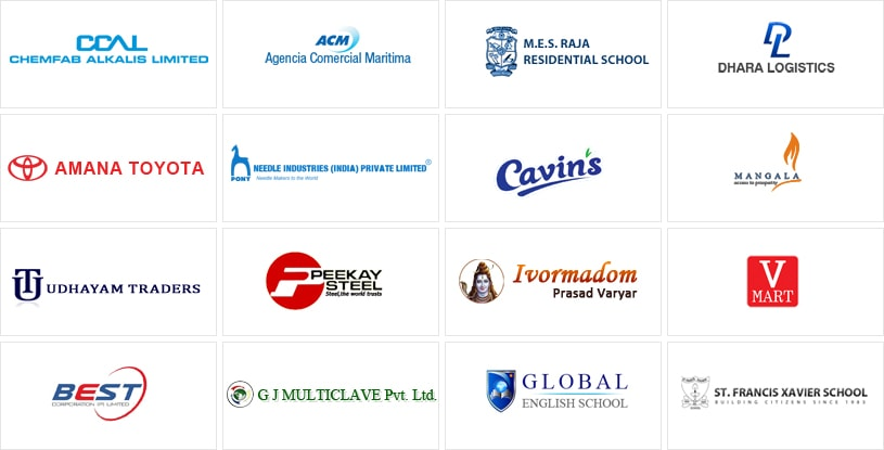 AVLView's clients in India - continued