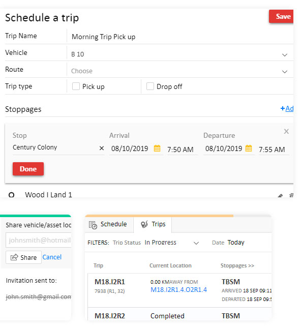 EASY TO PLAN, TRACK AND SHARE