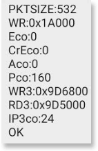NOS SMS command