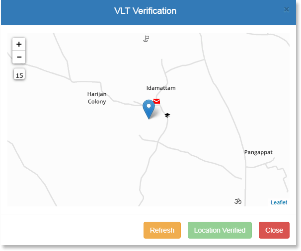 VLT Verification Form