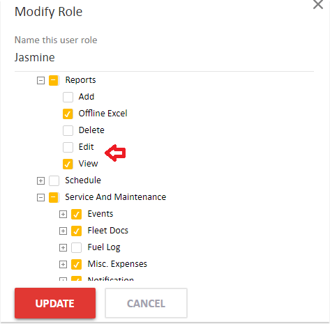 AVLView Roles and Privileges