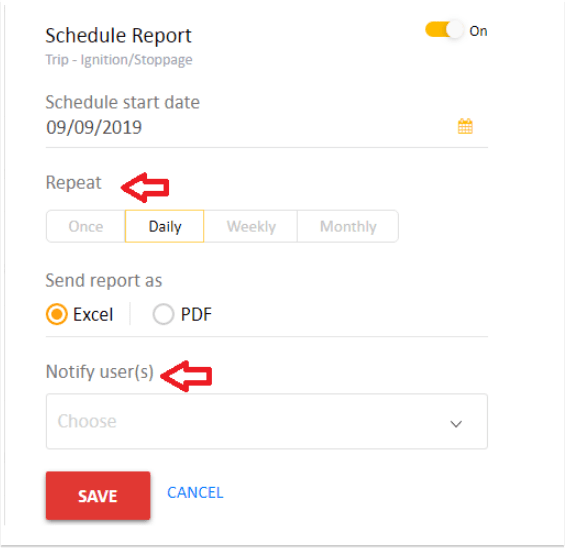 AVLView Schedule Reports